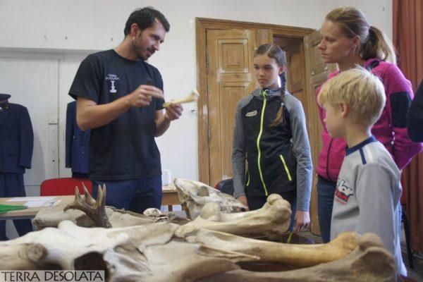 Kamil opowiada o kościach zwierząt - archeozoologia