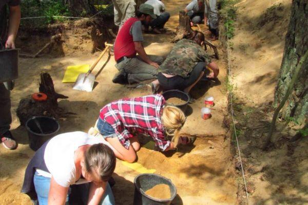 Eksploracja archeologiczna w Wólce Prusinowskiej