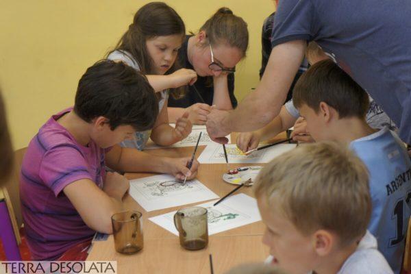 Wakacje z archeologią - edukacja 4