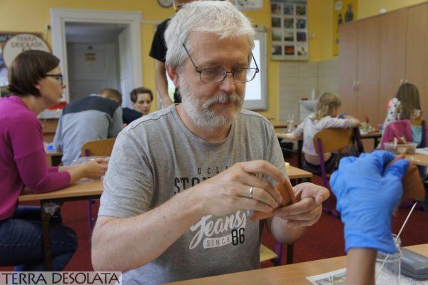 Paweł Szymański aktywnie uczestniczył w naszych warsztatach
