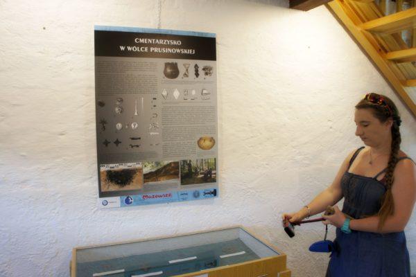 Wystawa archeologiczna w Mazurskim Parku Krajobrazowym w Krutyni