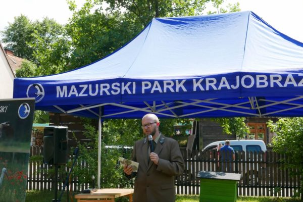 Otwarcie wystawy archeologicznej w Mazurskim Parku Krajobrazowym w Krutyni