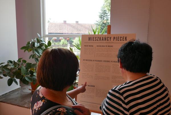 """Wystawa """"Jestem stąd"""" w Pieckach (2019)"""